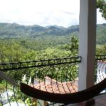 Lovely panoramic view from private hammock on balcony