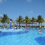 The pool near the beach