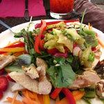 The seasonal salad!