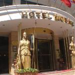 Entreé van hotel Mosaic