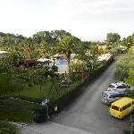 Piscina e parcheggio Hotel Marina