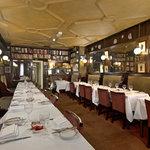 Dining room at Gay Hussar