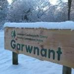Snow at Garwnant