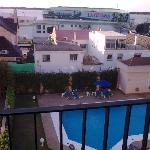 Vista desde la terraza de la habitación