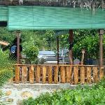 Vista terraza donde comimos