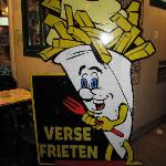 Kris's fry place that he recommends.
