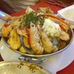 Cataplana with shellfish for 2