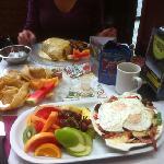three breakfasts