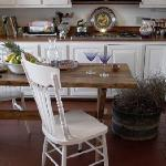 Farmhouse kitchen where guests can prepare their own evening meals