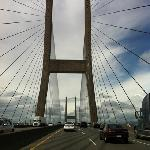 Die Brücke zur Stadt...einfach klasse!