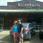 In front of Killer Tacos