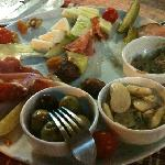 A mixed platter - mostly devoured!!!