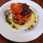 Roasted Vegetable Stack with Tapenade