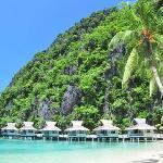 Resort and bay