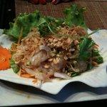 Salade de poisson (entrée)