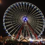 à Noël venez faire un tour sur la grande roue !