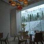 The reception area, Screen Hotel