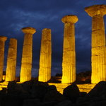 Agrigento, the temples by night