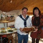 al ristorante Tropical con il proprietario Leo La Rocca