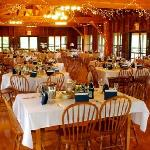 Ohana Lodge Wedding Reception Set-Up