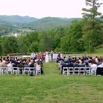 Wedding Ceremony on the Ohana Lawn
