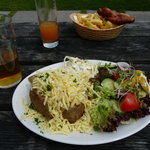 Our food - generous portions, excellent quality
