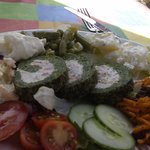 Spinach & Gorgonzola Roulade