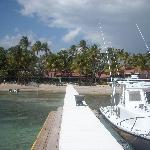 """El hotel desde """"la playa"""""""