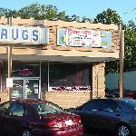Plain storefront