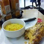 Spicy Peri-Peri Chicken w/rice