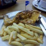 Mild Peri-Peri Chicken with fries