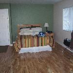 Bed in Cabin 27