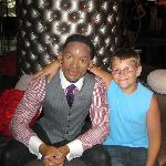 my son and Will Smith