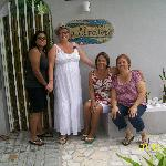 Entrance to Coqui Del Mar- Lina,Cookie,Noyda,and Thayz