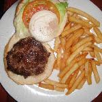 Room Service Burger-Beware!