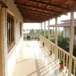 AC cottage verandah