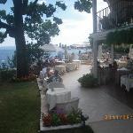 Croatia: Opatija: Hotel Miramar Hotel- terrace