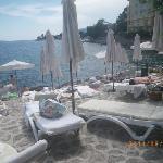 Croatia: Opatija: Hotel Miramar Hotel- beach
