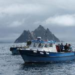Boat trip to the Skelligs