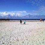 Kids at Nairn  Beach