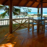 View from the terrace of a ROCKSIDE BEACH CABANA to the Indian Ocean