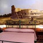 "The spacious ""Colosseo"" Room"