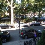 Carroll Gardens Park across the street
