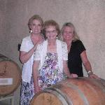 The girls by the wine casks! 07/11)