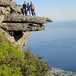 Old cableway station - Table mountain