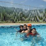 Clean outdoor pool