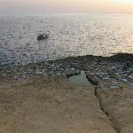 sunset at Xlendi