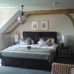 Room 14, comfy bed!