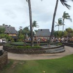 Center stage area of Old Lahaina Luau