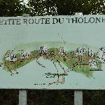 Karte von Tholonet